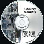 M1078 Series 2 1/2-Ton 4X4 LMTV Repair and Maintenance Manuals