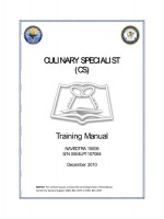 Culinary Specialist (CS) Training Manual NAVEDTRA 15008